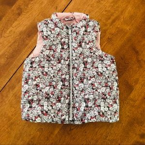 Baby Gap Floral Puffer Vest